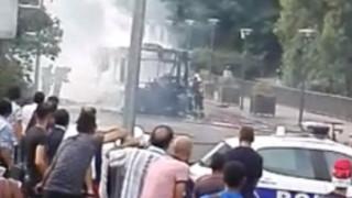 Έκρηξη σε λεωφορείο στο Παρίσι (pics&vid)