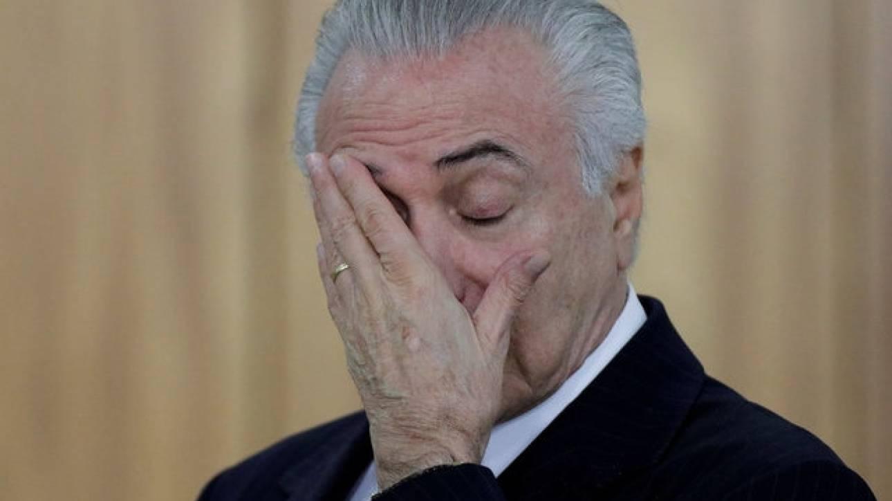 Διαφθορά στη Βραζιλία: Για δωροδοκία κατηγορείται ο πρόεδρος, καταδικάστηκε πρώην υπουργός