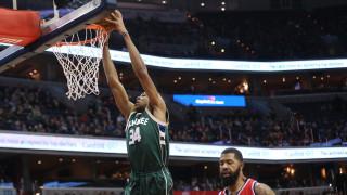 NBA: Πιο βελτιωμένος παίκτης ο Αντετοκούνμπο, MVP ο Γουέστμπρουκ (vid)
