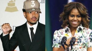 Μισέλ Ομπάμα: Συνεχάρη τον Chance the Rapper για τον ανθρωπισμό του