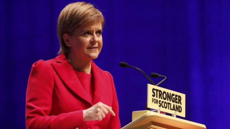 Διάγγελμα της Στέρτζον για το μέλλον της Σκωτίας