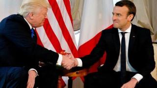 Τραμπ και Μακρόν προειδοποιούν τη Συρία: Σε περίπτωση επίθεσης με χημικά θα αντιδράσουμε