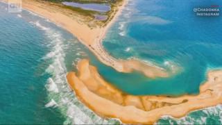 Η Βόρεια Καρολίνα έχει νέο νησί - Όμως προσοχή: μπορεί να εξαφανιστεί όσο αναπάντεχα εμφανίστηκε