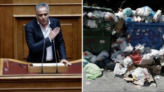 Επιμένει να δείχνει τη ΝΔ για το αδιέξοδο με τα σκουπίδια η κυβέρνηση