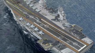 H Ρωσία βάζει πλώρη για το αεροπλανοφόρο του μέλλοντος
