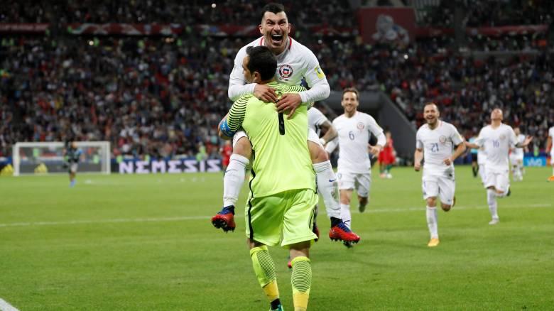 Confederations Cup 2017: Η Χιλή στον τελικό, νίκησε στα πέναλτυ την Πορτογαλία