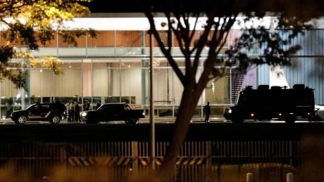 Βραζιλία: Αυτοκίνητο επιχείρησε να εισβάλει στο Προεδρικό Μέγαρο