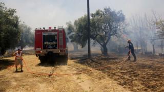 Σε ποιες περιοχές υπάρχει υψηλός κίνδυνος πυρκαγιάς το Σάββατο (pic)
