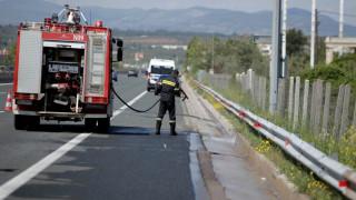 Θανατηφόρο τροχαίο στην Ε.Ο. Θεσσαλονίκης-Μουδανιών (vid)