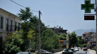 Στους 47 βαθμούς «σκαρφάλωσε» η θερμοκρασία στα Τρίκαλα (pics)