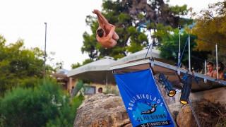 Κρήτη: Tο πρώτο αγωνιστικό Cliff Diving στον Άγιο Νικόλαο (pics)