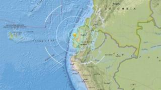 Πέντε τραυματίες και περιορισμένες ζημιές από τον σεισμό των 6 Ρίχτερ στον Ισημερινό