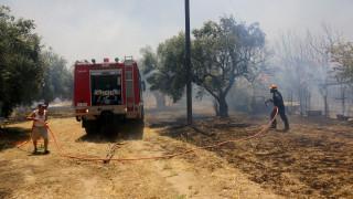 Σε ύφεση φωτιά στην Κερατέα