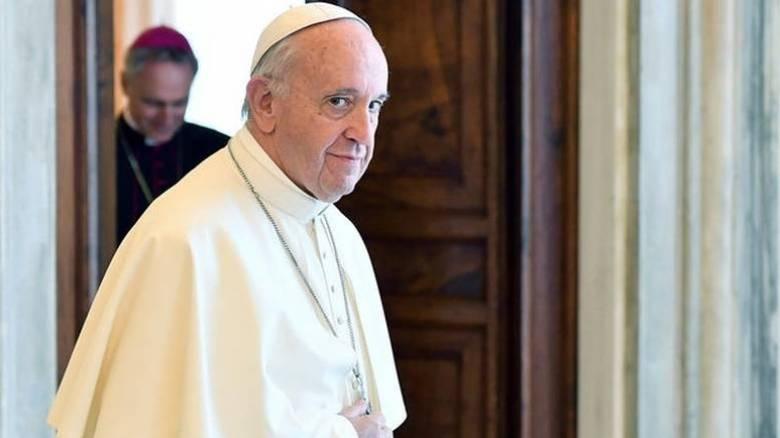 Προσφορά 50.000 ευρώ από τον πάπα Φραγκίσκο στους σεισμόπληκτους της Μυτιλήνης