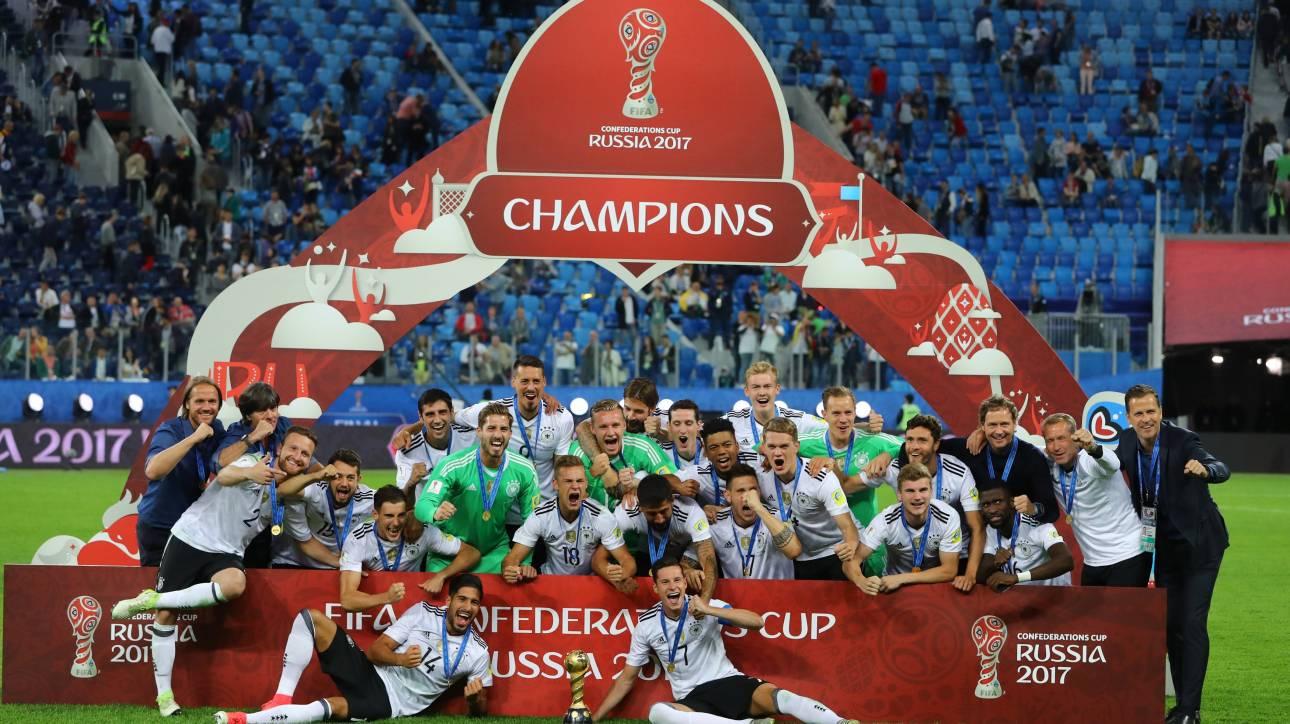 Confederations Cup 2017: Νικήτρια η Γερμανία, 1-0 τη Χιλή στον τελικό