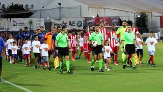 Φιλική νίκη του Πανιωνίου επί του Ολυμπιακού στη Νέα Σμύρνη