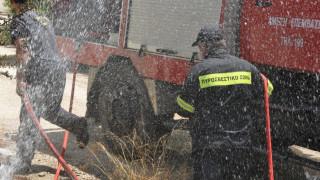Πυρκαγιά στα κρατητήρια της Αστυνομικής Διεύθυνσης Σάμου