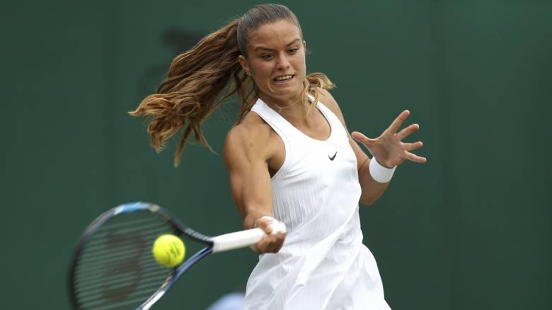 Wimbledon 2017: Μεγάλη πρόκριση της Σάκκαρη στο δεύτερο γύρο