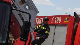 Από θαύμα σώθηκαν οι ένοικοι της πολυκατοικίας που λαμπάδιασε στη Θεσσαλονίκη