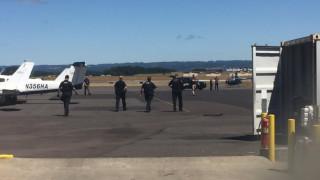 Συναγερμός στο αεροδρόμιο του Όρεγκον: Μασκοφόρος πήγε να κλέψει ένα ελικόπτερο