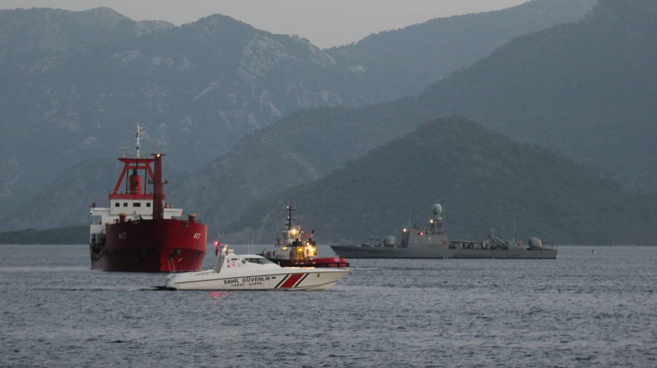 Κλιμακώνει η Άγκυρα και στέλνει τρία πολεμικά πλοία στο Αιγαίο
