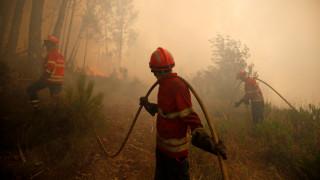 Τραυματίες σε δύο πύρινα μέτωπα στην Πορτογαλία