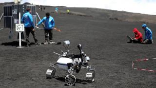 Σεληνιακά ρομπότ κάνουν ασκήσεις στο ηφαίστειο Αίτνα