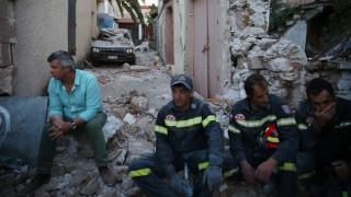 Μέτρα στήριξης για τους σεισμόπληκτους της Μυτιλήνης