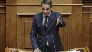 Επιμένει ο Μητσοτάκης για εκλογές - Σφοδρή επίθεση σε Τσίπρα και Καμμένο