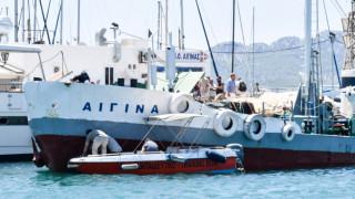Τραγωδία στην Αίγινα: Συνελήφθη ο πλοίαρχος της υδροφόρας (pics)