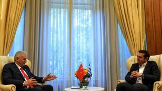 Τηλεφωνική επικοινωνία Τσίπρα-Γιλντιρίμ μετά την εμπλοκή στο Κυπριακό
