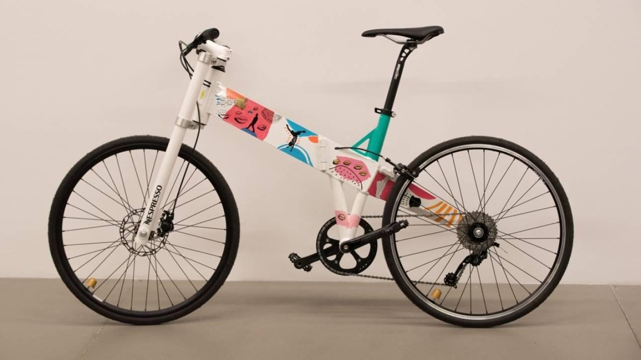 Πώς μία κάψουλα Nespresso έγινε ποδήλατο