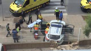 Πυροβολισμοί στην Ισπανία - Ένοπλος τραυμάτισε αστυνομικούς (pics&vid)
