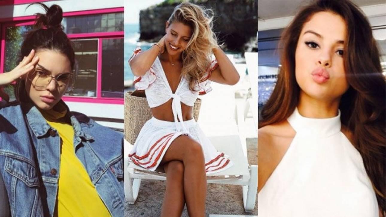 Instagram Rich List: Οι 20 πιο ακριβοπληρωμένοι star & influencers του 2017