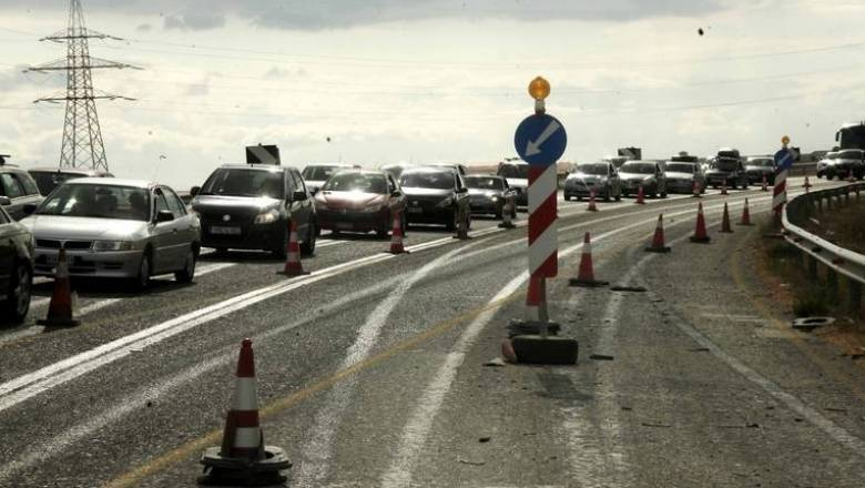 Προσωρινές κυκλοφοριακές ρυθμίσεις στην ευρεία παράκαμψη της Πάτρας