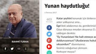 Προκλητικό άρθρο στην τουρκική Sözcü: Οι Έλληνες τύραννοι έχουν υπό κατοχή τα νησιά μας