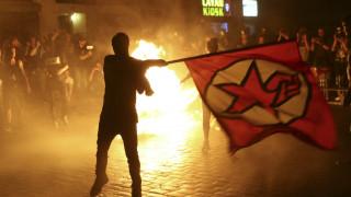 G-20: Επεισόδια και συγκρούσεις στους δρόμους του Αμβούργου (pics)