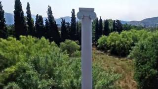 Το Τρόπαιο και το Πεδίο της Μάχης του Μαραθώνα από ψηλά (Vid)