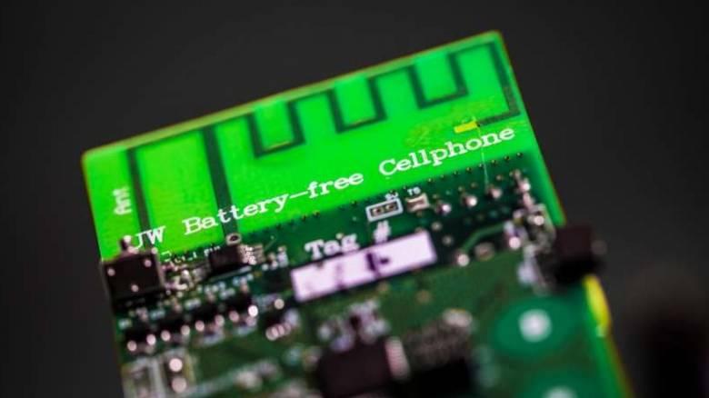 Δημιουργήθηκε το πρώτο πειραματικό κινητό τηλέφωνο που δεν χρειάζεται μπαταρία (Vid)