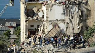 Κατέρρευσε κτίριο στην Ιταλία - Φόβοι για εγκλωβισμένους (pics)