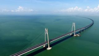 Έτοιμη η μεγαλύτερη θαλάσσια γέφυρα στον κόσμο (pics&vid)