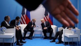 G20: Η πρώτη συνάντηση Τράμπ-Πούτιν (pics)