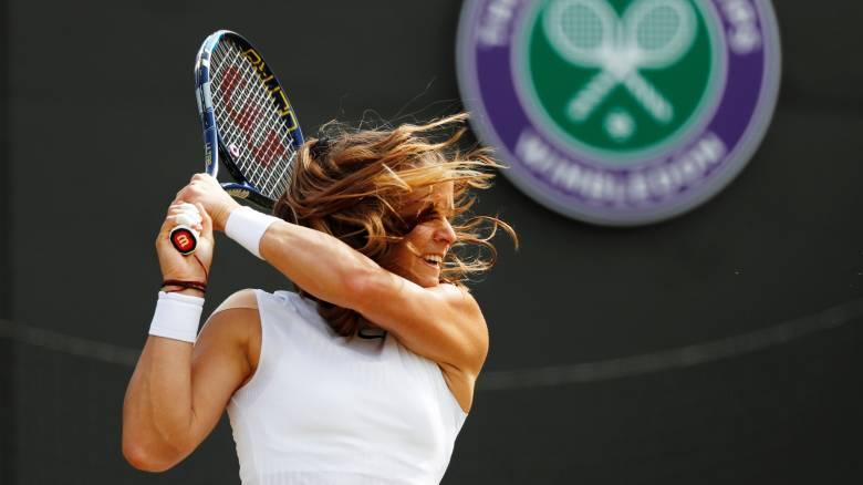 Wimbledon 2017: Ήττα από την Κόντα και αποκλεισμός για τη Σάκκαρη
