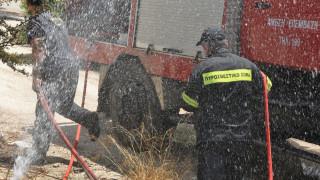 Φωτιά σε ξενοδοχείο στο Αίγιο – Απεγκλωβίστηκαν όλοι οι ένοικοι