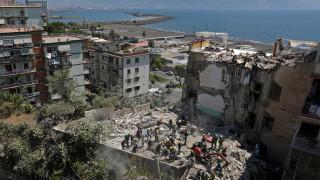 Ιταλία: Εντόπισαν δύο πτώματα κάτω από τα συντρίμμια της πολυκατοικίας (pics)