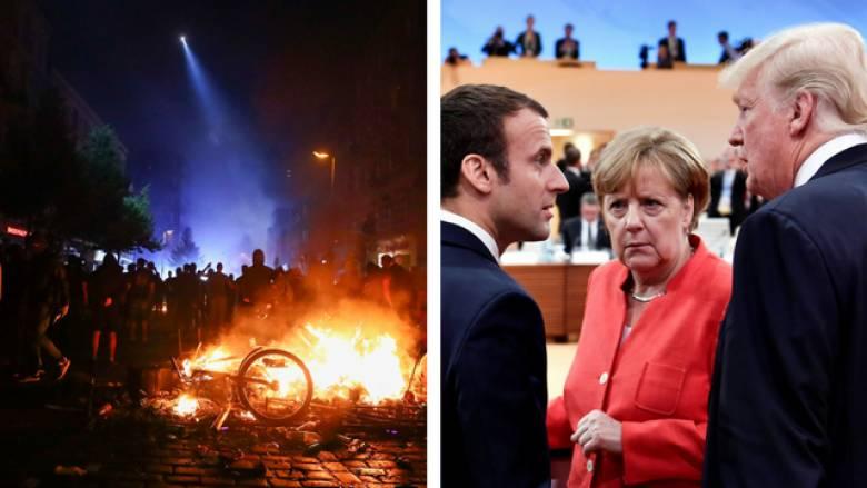 G20: σε κατάσταση πολιορκίας το Αμβούργο - η ώρα των δύσκολων συγκλίσεων