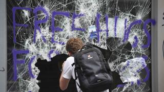 G20: Εικόνα καταστροφής στους δρόμους του Αμβούργου