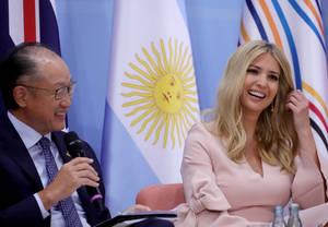 G20: Η Ιβάνκα Τραμπ τράβηξε τα βλέμματα στο Αμβούργο