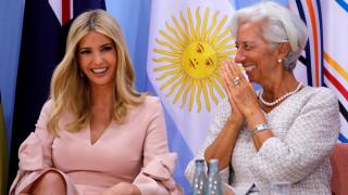 G20: Η Ιβάνκα Τραμπ τράβηξε τα βλέμματα και στο Αμβούργο