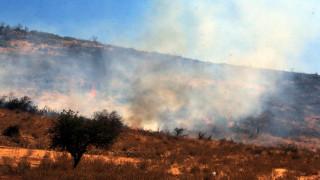 Φωτιά Ιεράπετρα: Δεν υπάρχουν ενεργά μέτωπα, κίνδυνος από τις αναζωπυρώσεις